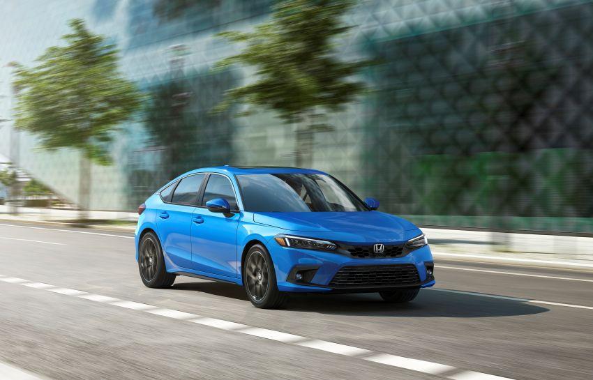 Honda Civic Hatchback 2022 didedahkan – pilihan kotak gear manual 6-kelajuan, suspensi lebih sporty Image #1311254