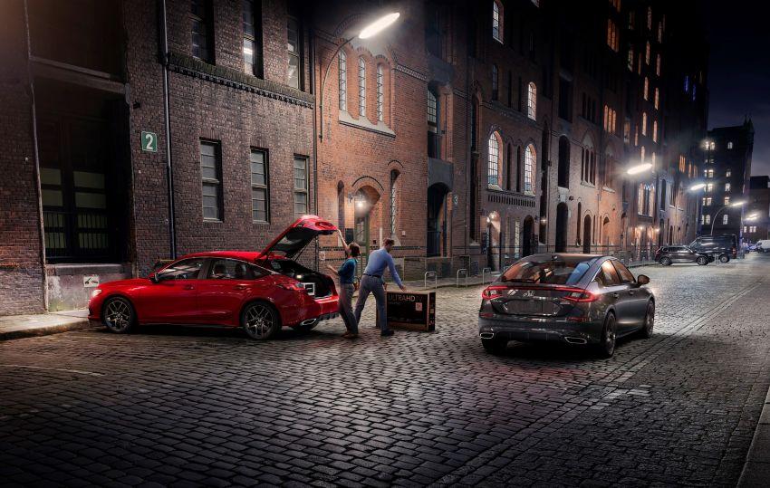 Honda Civic Hatchback 2022 didedahkan – pilihan kotak gear manual 6-kelajuan, suspensi lebih sporty Image #1311261