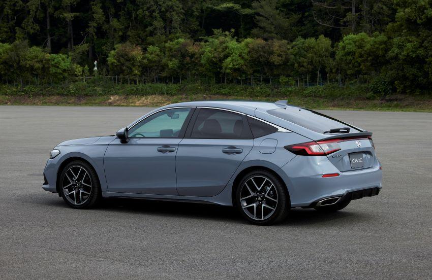 Honda Civic Hatchback 2022 didedahkan – pilihan kotak gear manual 6-kelajuan, suspensi lebih sporty Image #1311268