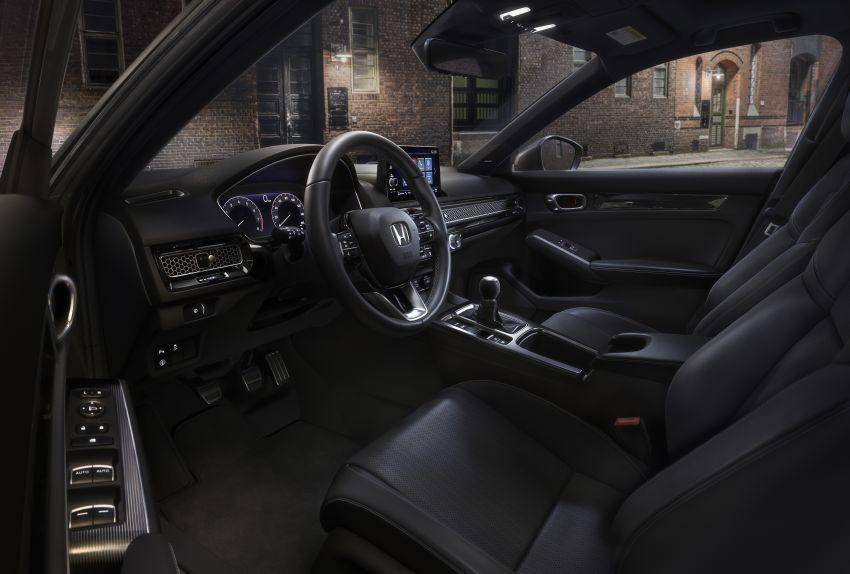 Honda Civic Hatchback 2022 didedahkan – pilihan kotak gear manual 6-kelajuan, suspensi lebih sporty Image #1311278