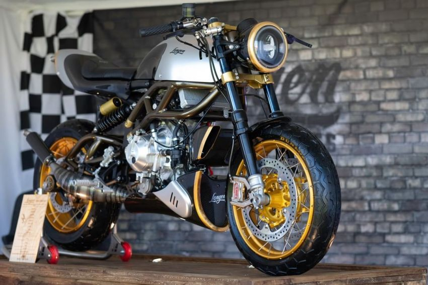 Langen Motorcycles Two Stroke is an authentic two-stroke retro racer – limited edition of 100, RM163k Image #1306160