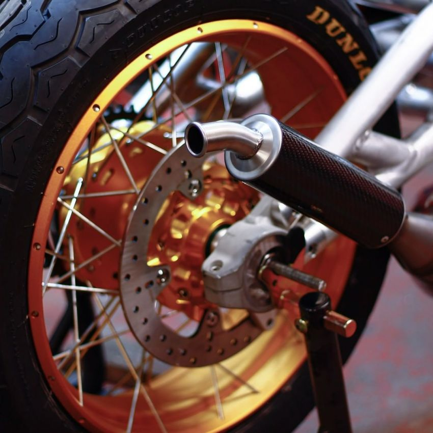 Langen Motorcycles Two Stroke is an authentic two-stroke retro racer – limited edition of 100, RM163k Image #1306161