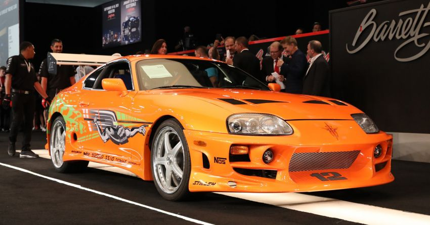 1994 Toyota Supra Mk4 driven by Paul Walker in <em>The Fast and the Furious</em> sold for a record RM2.28 million Image #1309458