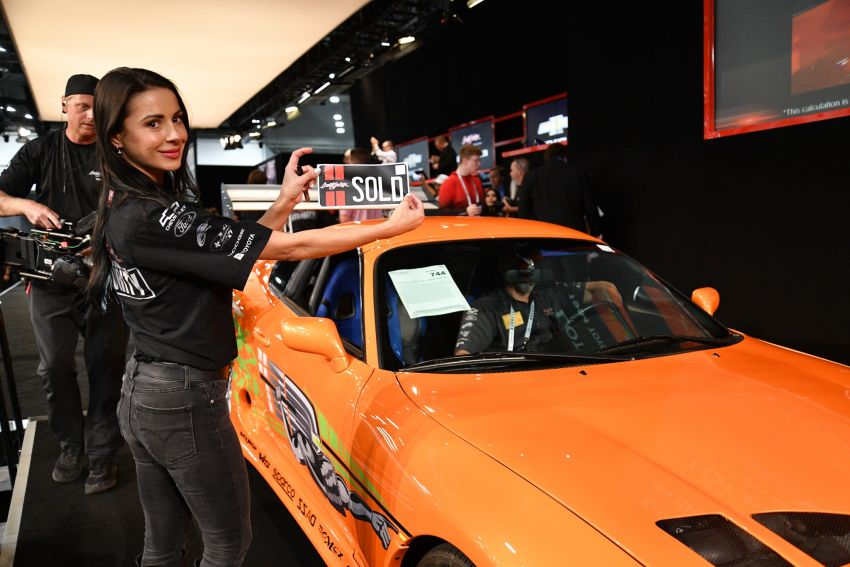 1994 Toyota Supra Mk4 driven by Paul Walker in <em>The Fast and the Furious</em> sold for a record RM2.28 million Image #1309459