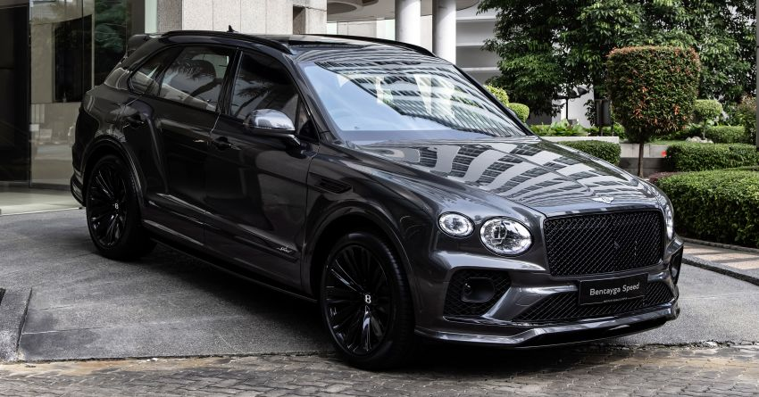 Bentley Bentayga Speed launched in Malaysia – 6.0L W12 beast with 635 PS, 900 Nm; from RM2.68 million Image #1302962