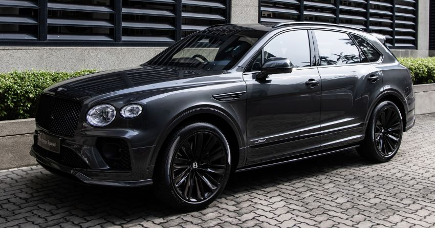 Bentley Bentayga Speed launched in Malaysia – 6.0L W12 beast with 635 PS, 900 Nm; from RM2.68 million Image #1302963