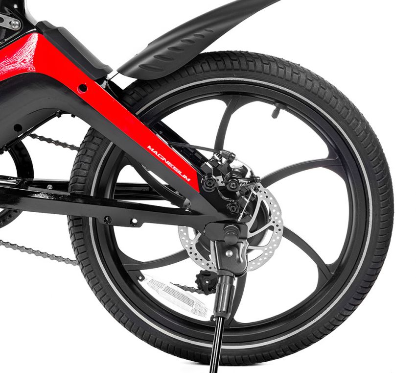 Ducati MG-20 folding e-bicycle, magnesium, RM7,909 Image #1313569