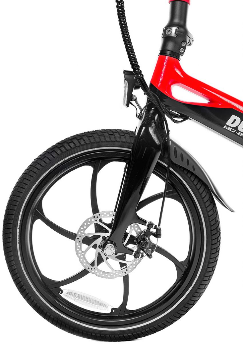 Ducati MG-20 folding e-bicycle, magnesium, RM7,909 Image #1313570
