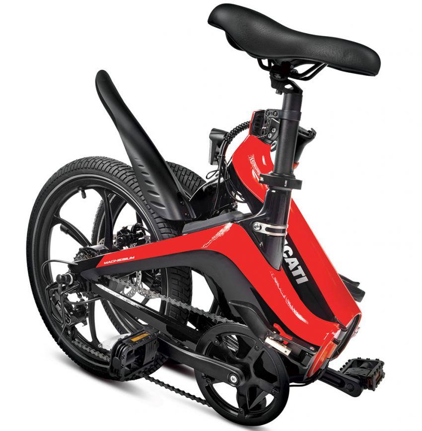 Ducati MG-20 folding e-bicycle, magnesium, RM7,909 Image #1313572