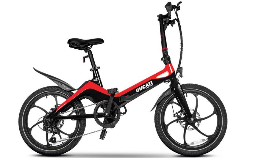 Ducati MG-20 folding e-bicycle, magnesium, RM7,909 Image #1313573