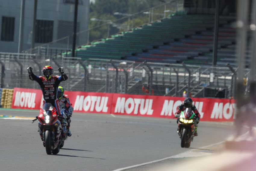 Suzuki wins Endurance 24 hour race at Le Mans Image #1307231