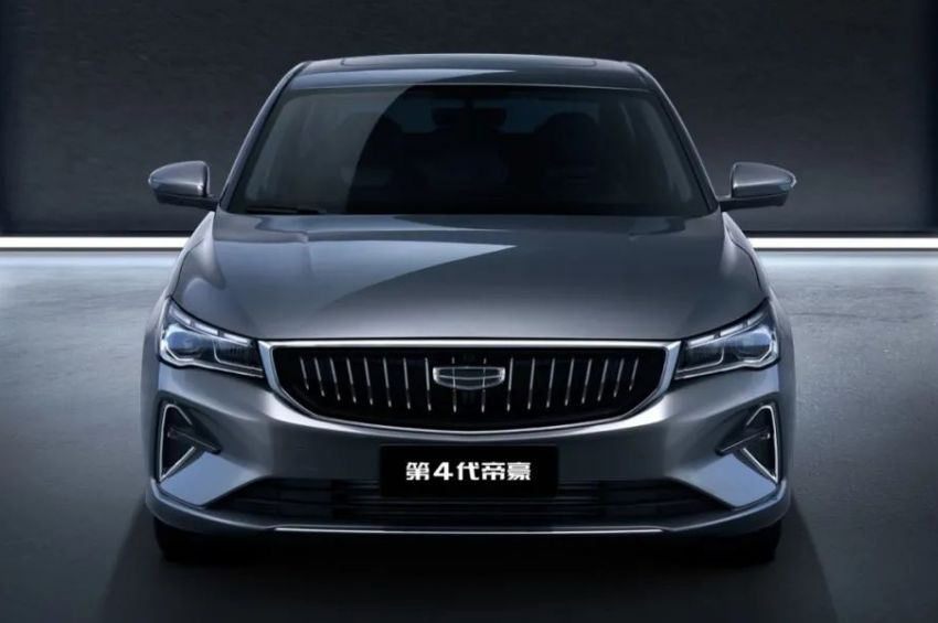 2021 Geely Emgrand – new photos of SS11 released Image #1305783