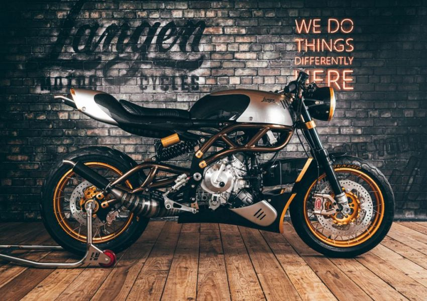 Langen Motorcycles Two Stroke is an authentic two-stroke retro racer – limited edition of 100, RM163k Image #1306151