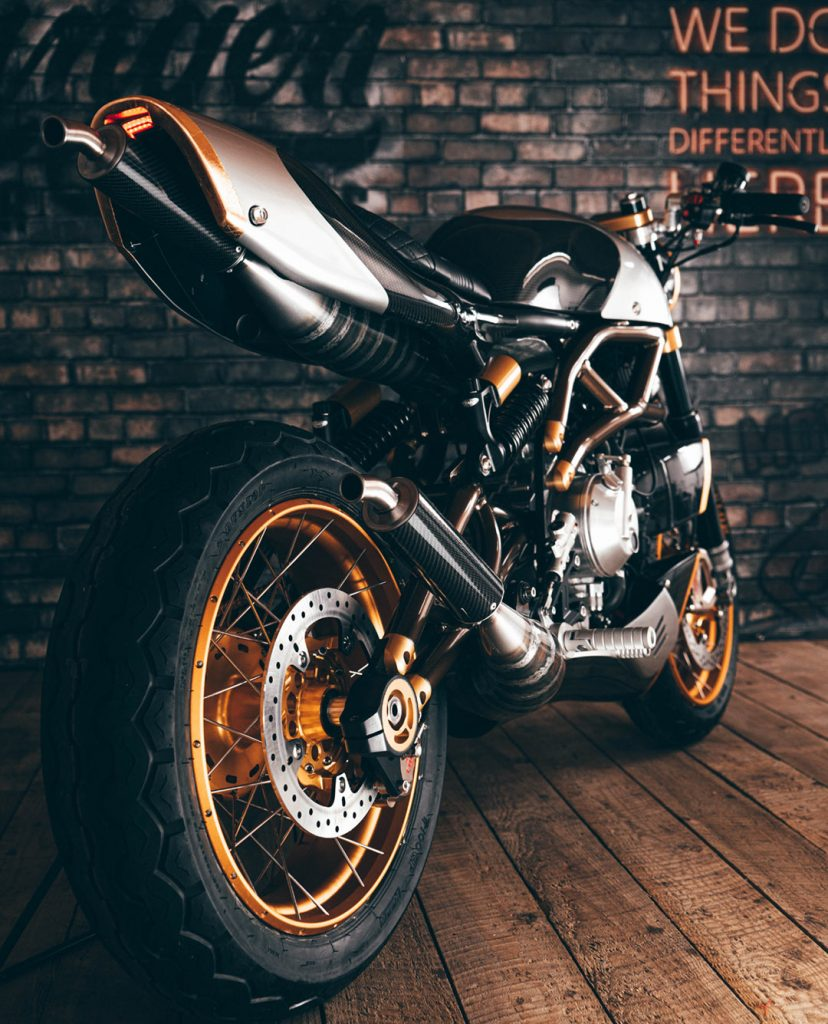 Langen Motorcycles Two Stroke is an authentic two-stroke retro racer – limited edition of 100, RM163k Image #1306143
