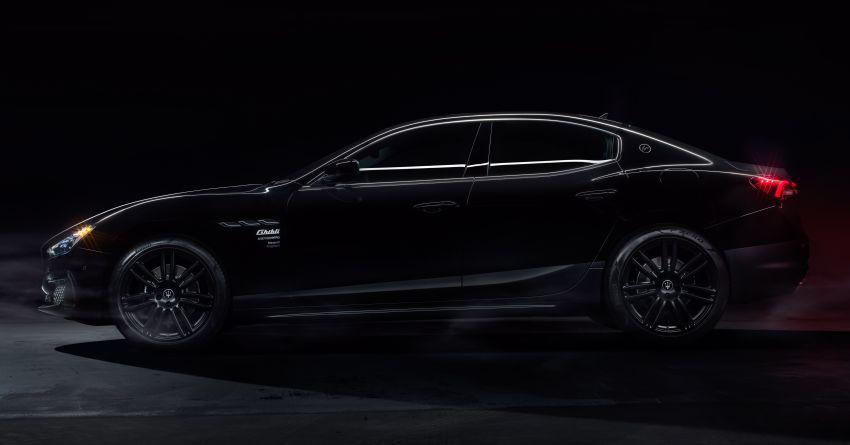 Maserati Ghibli Fragment 2021 diperkenalkan di Jepun Image #1312411