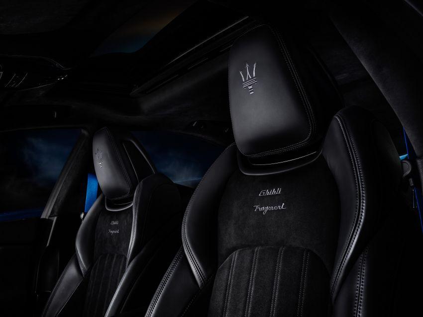 Maserati Ghibli Fragment 2021 diperkenalkan di Jepun Image #1312415