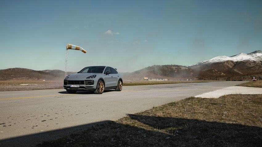 Porsche Cayenne Turbo GT diperkenal – 640 PS/850 Nm, 0-100 km/j 3.3 saat, kelajuan maksima 300 km/j Image #1313615