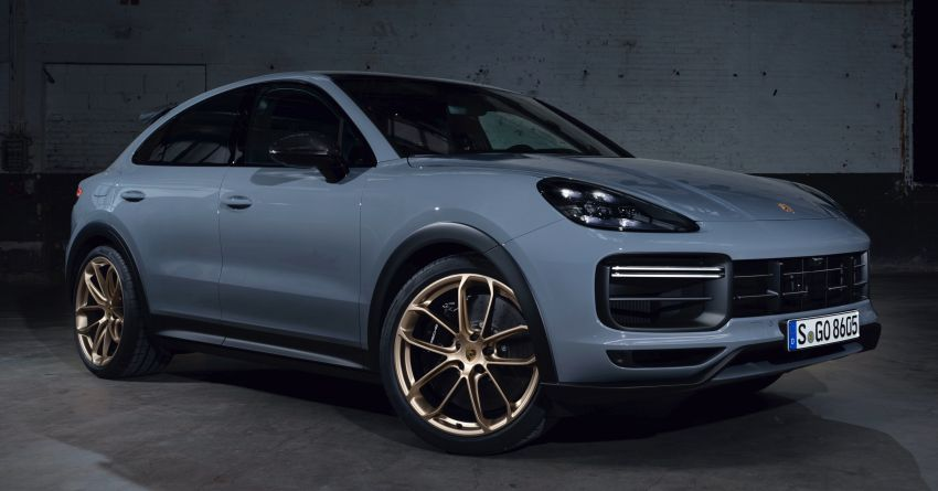 Porsche Cayenne Turbo GT debuts – 640 PS/850 Nm four-seater, 0-100 km/h in 3.3 seconds, 300 km/h VMax Image #1313495