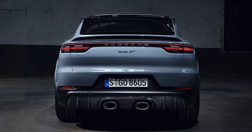 Porsche Cayenne Turbo GT diperkenal – 640 PS/850 Nm, 0-100 km/j 3.3 saat, kelajuan maksima 300 km/j Image #1313610