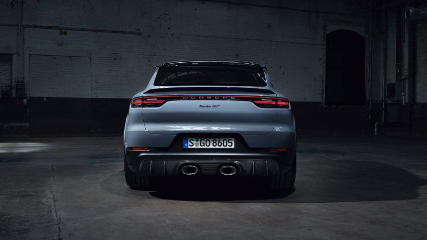 Porsche Cayenne Turbo GT diperkenal – 640 PS/850 Nm, 0-100 km/j 3.3 saat, kelajuan maksima 300 km/j Image #1313602