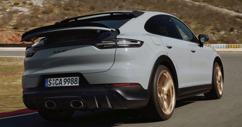 Porsche Cayenne Turbo GT diperkenal – 640 PS/850 Nm, 0-100 km/j 3.3 saat, kelajuan maksima 300 km/j Image #1313620