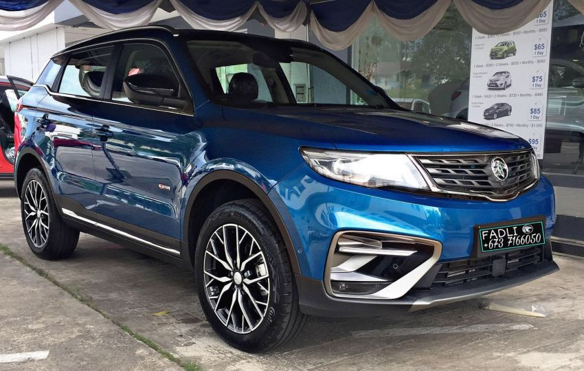 Proton X70 Exclusive Edition for Brunei – 37 units only; 2-tone exterior, new wheels, black Nappa leather Image #1306210