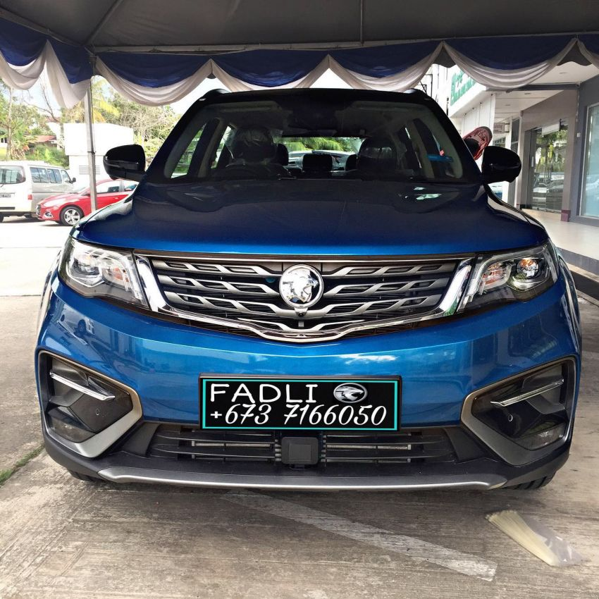 Proton X70 Exclusive Edition for Brunei – 37 units only; 2-tone exterior, new wheels, black Nappa leather Image #1306212