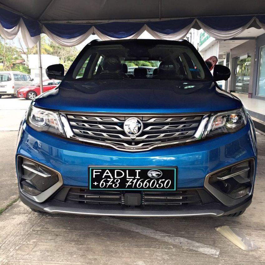 Proton X70 Exclusive Edition untuk pasaran Brunei — hanya 37 unit, warna dwi-tona, rim baru, kulit Nappa Image #1306310