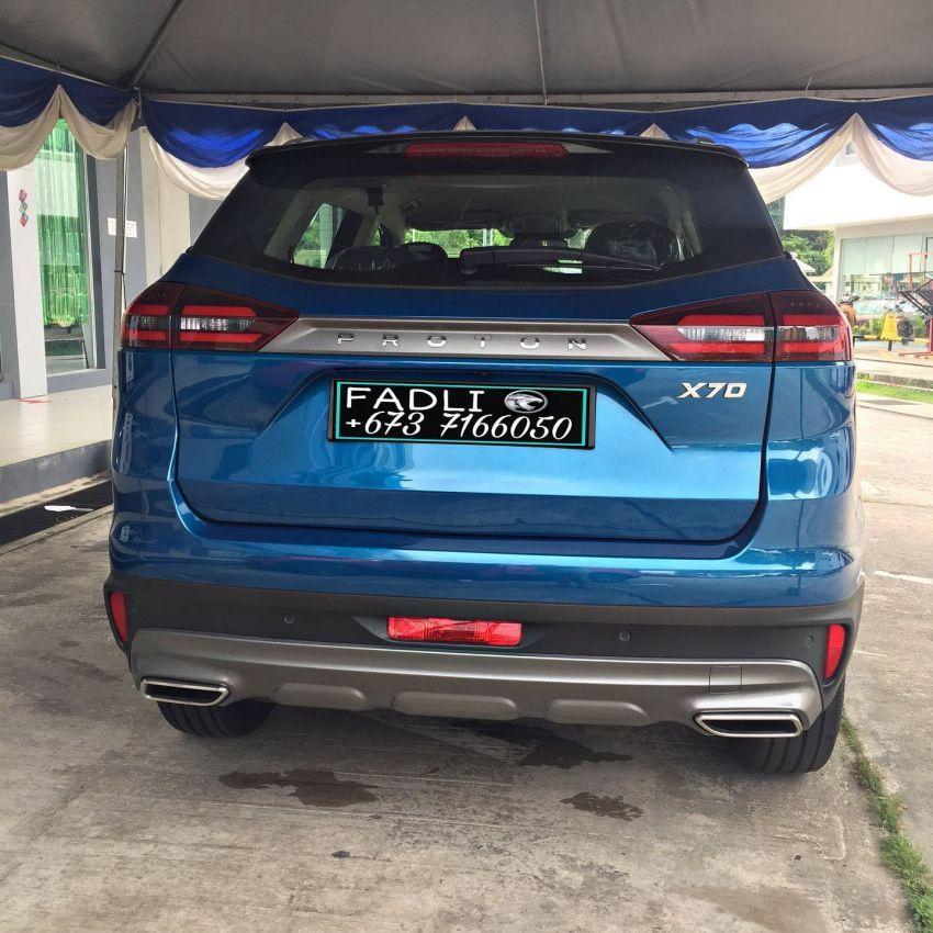 Proton X70 Exclusive Edition untuk pasaran Brunei — hanya 37 unit, warna dwi-tona, rim baru, kulit Nappa Image #1306311