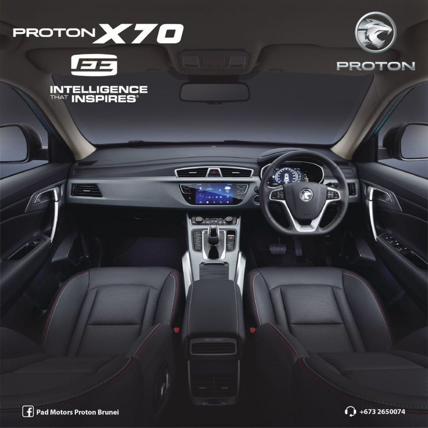 Proton X70 Exclusive Edition revealed for Brunei – two-tone exterior, special wheels, black Nappa leather Image #1305922