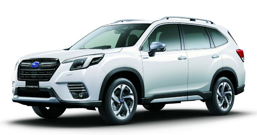 Subaru Forester facelift 2021 diperkenalkan di Jepun – gaya dipertingkatkan; enjin boxer hibrid dan turbo Image #1307207