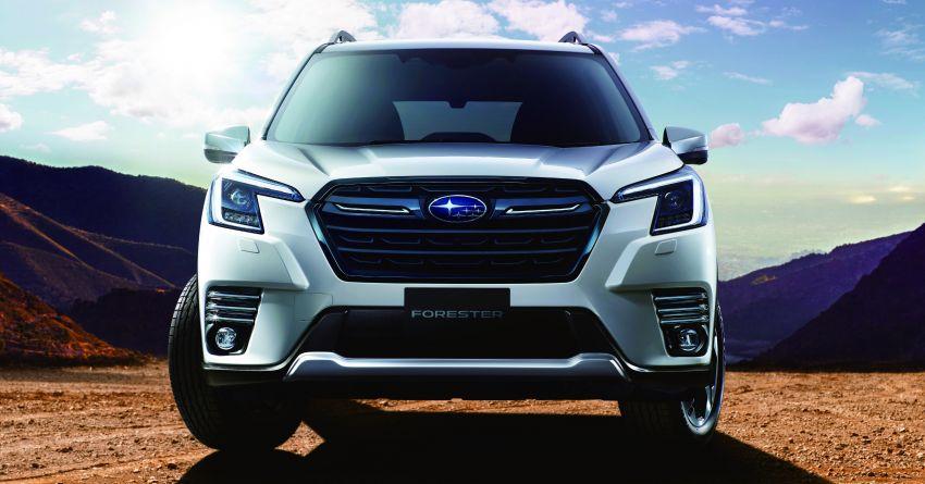 Subaru Forester facelift 2021 diperkenalkan di Jepun – gaya dipertingkatkan; enjin boxer hibrid dan turbo Image #1307209