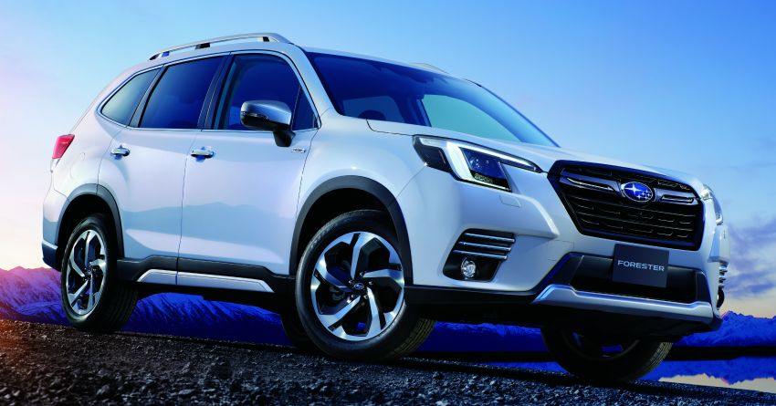 2021 Subaru Forester facelift makes its debut in Japan – revised styling; hybrid and turbo boxer engines Image #1307067