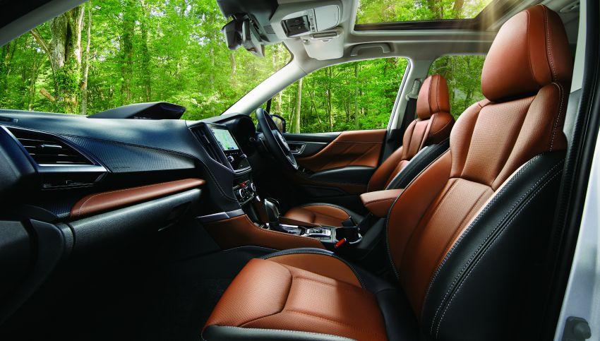 Subaru Forester facelift 2021 diperkenalkan di Jepun – gaya dipertingkatkan; enjin boxer hibrid dan turbo Image #1307211