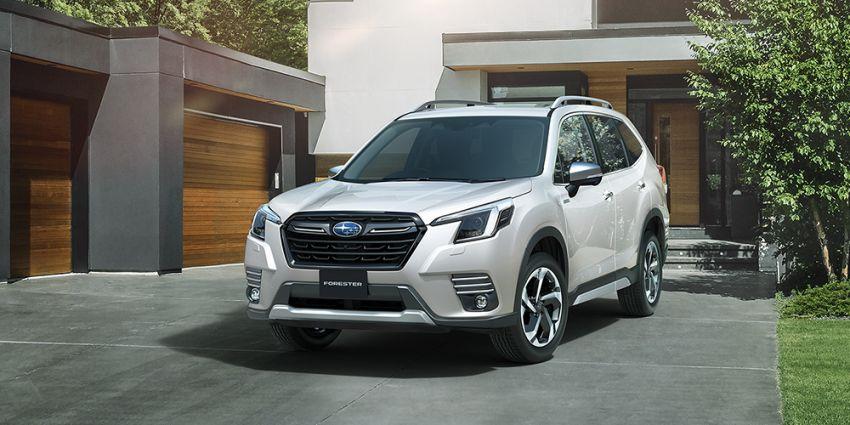 Subaru Forester facelift 2021 diperkenalkan di Jepun – gaya dipertingkatkan; enjin boxer hibrid dan turbo Image #1307212