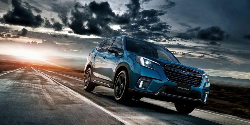Subaru Forester facelift 2021 diperkenalkan di Jepun – gaya dipertingkatkan; enjin boxer hibrid dan turbo Image #1307214