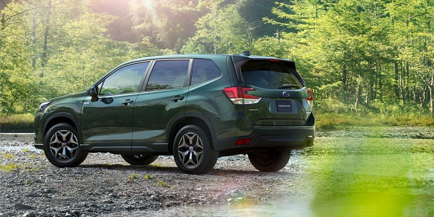 2021 Subaru Forester facelift makes its debut in Japan – revised styling; hybrid and turbo boxer engines Image #1307005