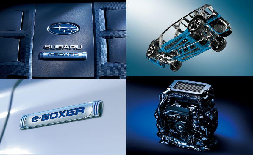 Subaru Forester facelift 2021 diperkenalkan di Jepun – gaya dipertingkatkan; enjin boxer hibrid dan turbo Image #1307216