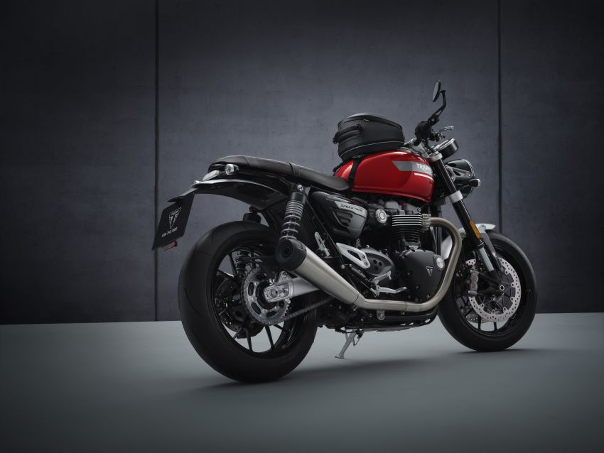 2021 Triumph Speed Twin updated, more power and torque, Euro 5 compliant, Brembo M50 Monobloc Image #1301435