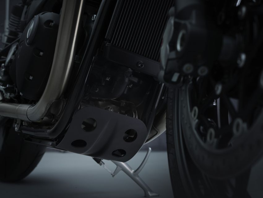 Triumph Speed Twin 2021 diperbaharui – enjin Euro 5, lebih kuasa dan tork, angkup brek Brembo Monobloc Image #1301554