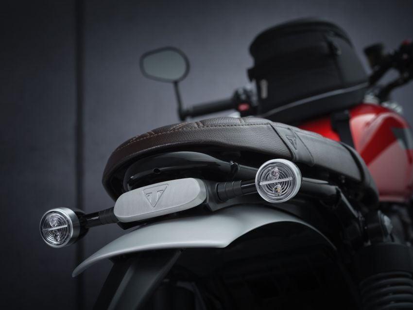 Triumph Speed Twin 2021 diperbaharui – enjin Euro 5, lebih kuasa dan tork, angkup brek Brembo Monobloc Image #1301551