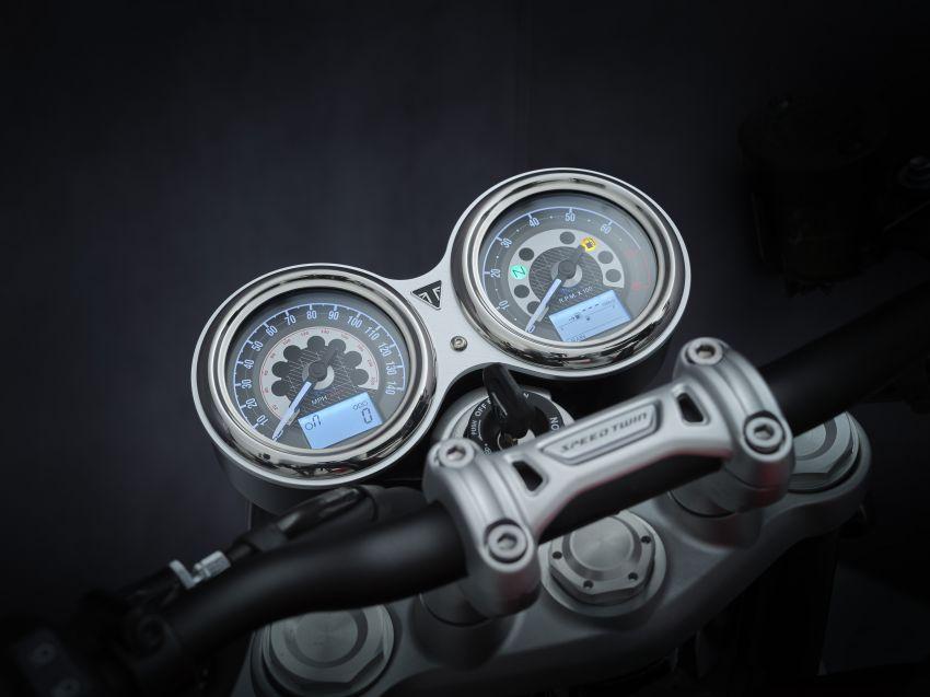 Triumph Speed Twin 2021 diperbaharui – enjin Euro 5, lebih kuasa dan tork, angkup brek Brembo Monobloc Image #1301565
