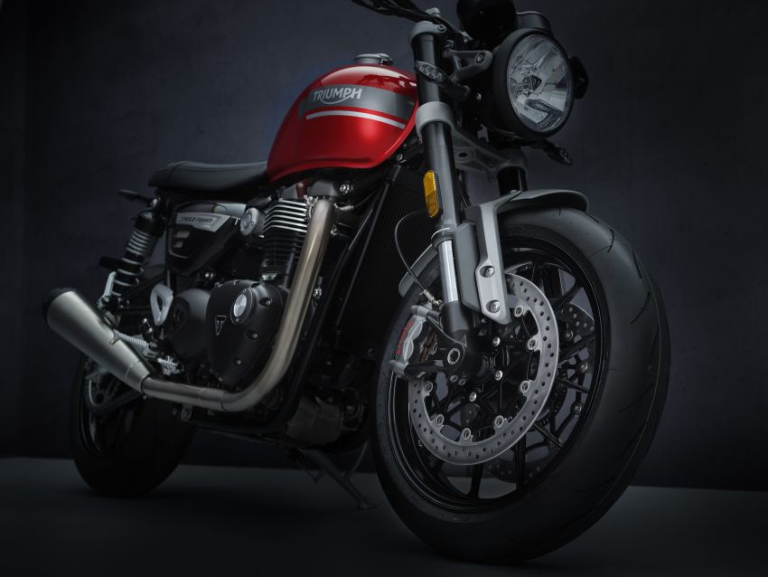 2021 Triumph Speed Twin updated, more power and torque, Euro 5 compliant, Brembo M50 Monobloc Image #1301426