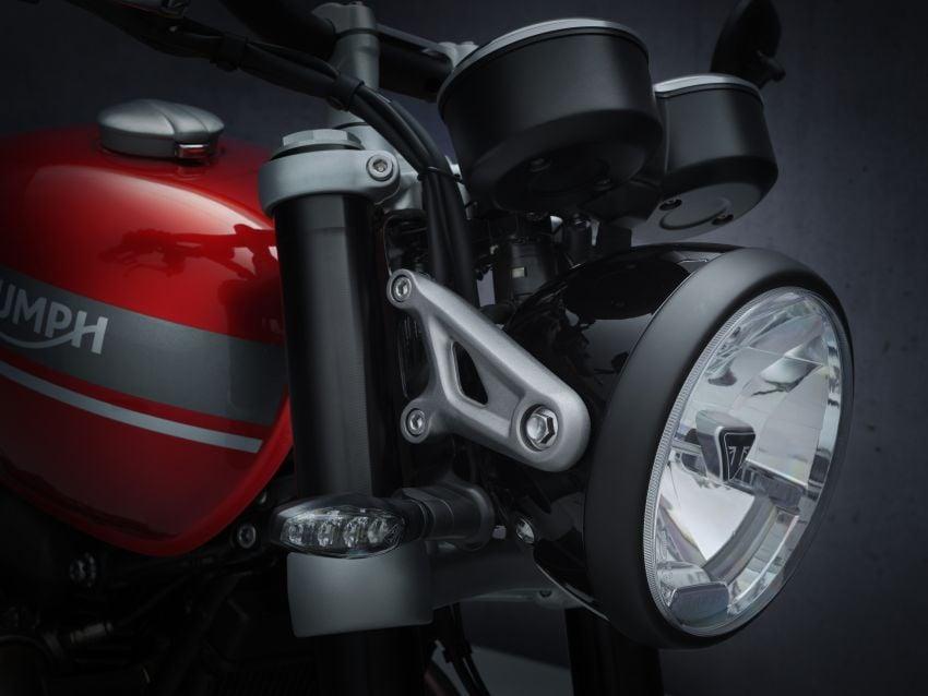 Triumph Speed Twin 2021 diperbaharui – enjin Euro 5, lebih kuasa dan tork, angkup brek Brembo Monobloc Image #1301559