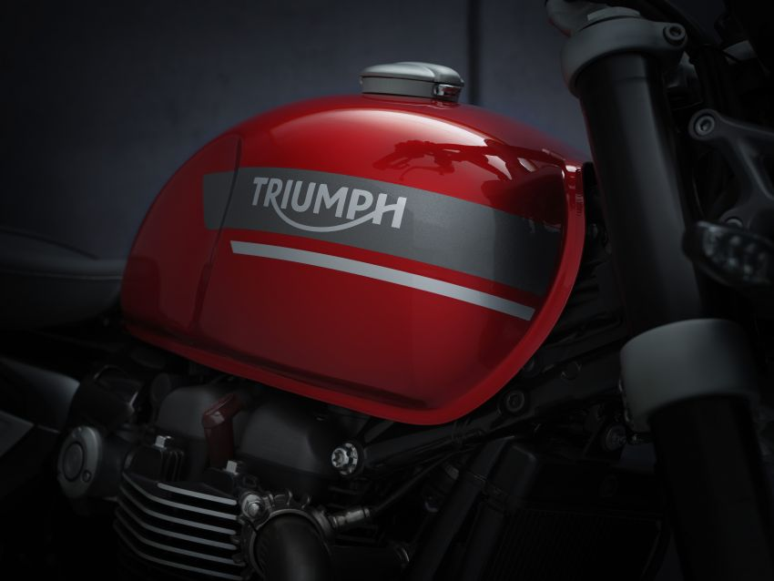 2021 Triumph Speed Twin updated, more power and torque, Euro 5 compliant, Brembo M50 Monobloc Image #1301432