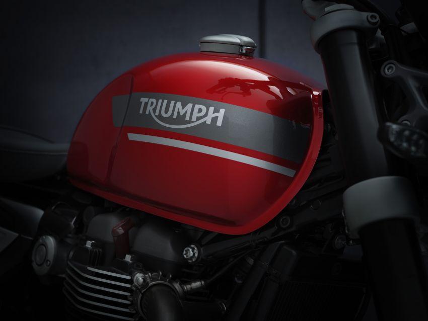 Triumph Speed Twin 2021 diperbaharui – enjin Euro 5, lebih kuasa dan tork, angkup brek Brembo Monobloc Image #1301557