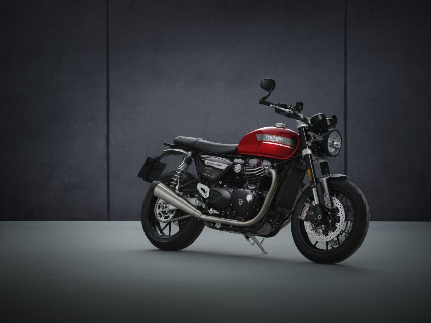2021 Triumph Speed Twin updated, more power and torque, Euro 5 compliant, Brembo M50 Monobloc Image #1301399