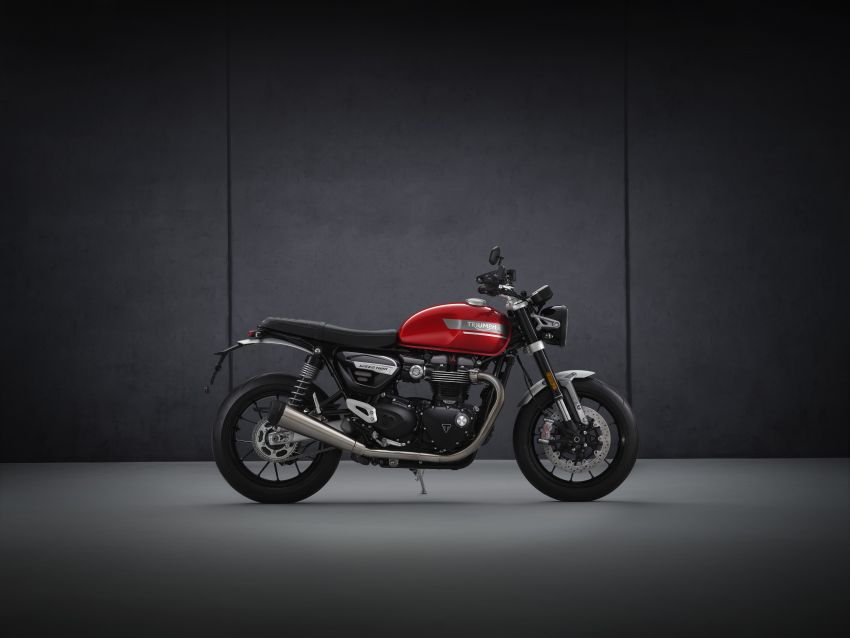 2021 Triumph Speed Twin updated, more power and torque, Euro 5 compliant, Brembo M50 Monobloc Image #1301422
