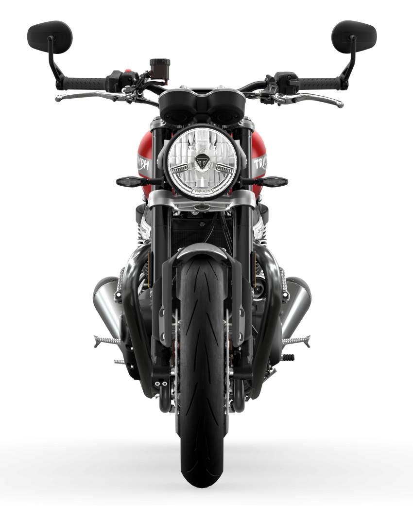 Triumph Speed Twin 2021 diperbaharui – enjin Euro 5, lebih kuasa dan tork, angkup brek Brembo Monobloc Image #1301584