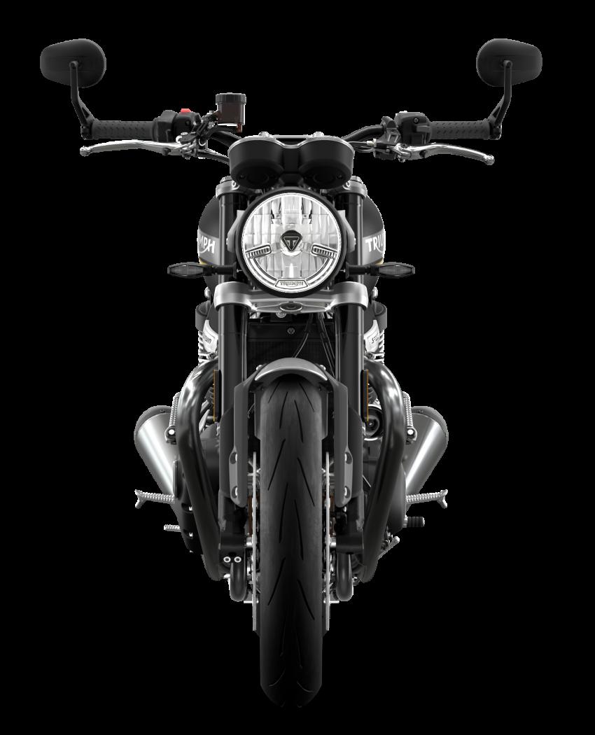 Triumph Speed Twin 2021 diperbaharui – enjin Euro 5, lebih kuasa dan tork, angkup brek Brembo Monobloc Image #1301583